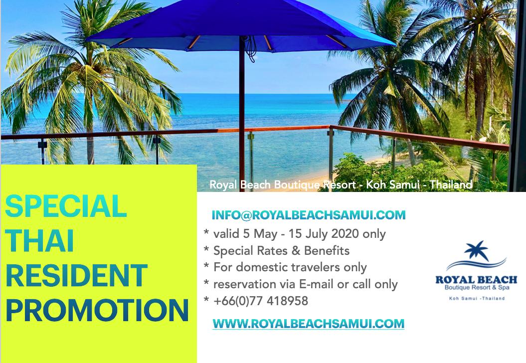 Royal Beach Resort Samui